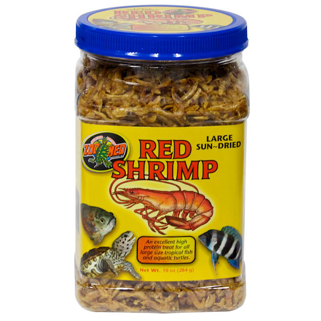 Zoo Med Large Sun-Dried Red Shrimp Aquatic Turtle Food, 10 oz. - Carousel image #1
