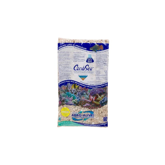 CaribSea Arag-Alive Natural Reef Aquarium Gravel, 16 lbs. - Carousel image #1
