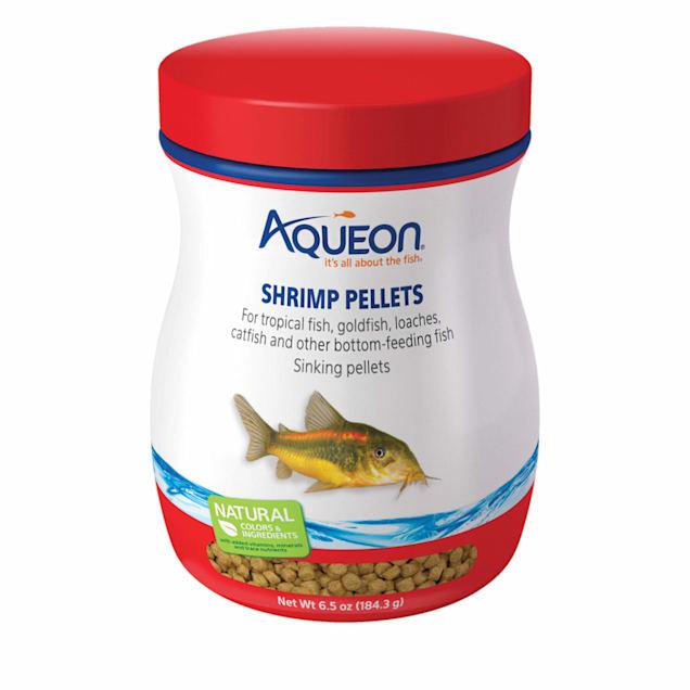 Aqueon Shrimp Pellets Fish Food, 6.5 oz. - Carousel image #1