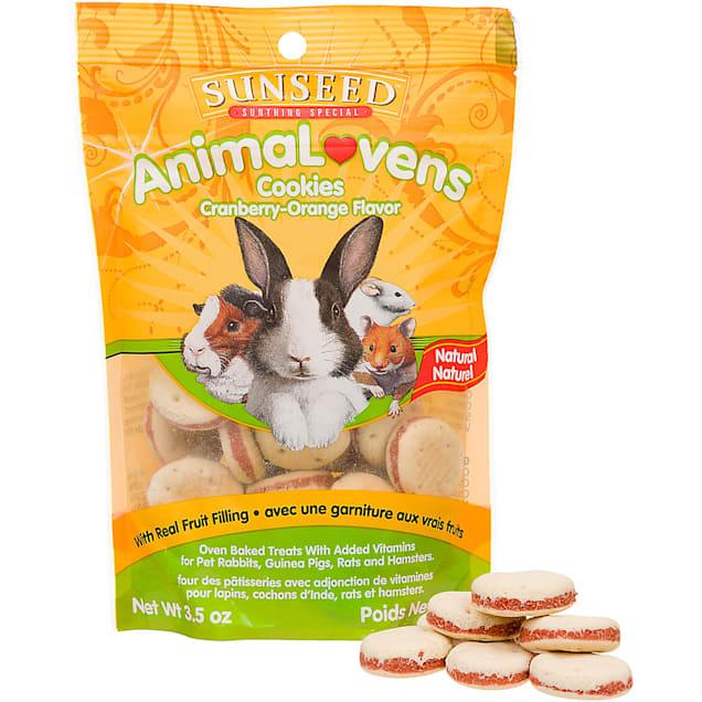 Sun Seed AnimaLovens Cookies Rabbit, Guinea Pig, Rat & Hamster Treat, 4 oz. - Carousel image #1