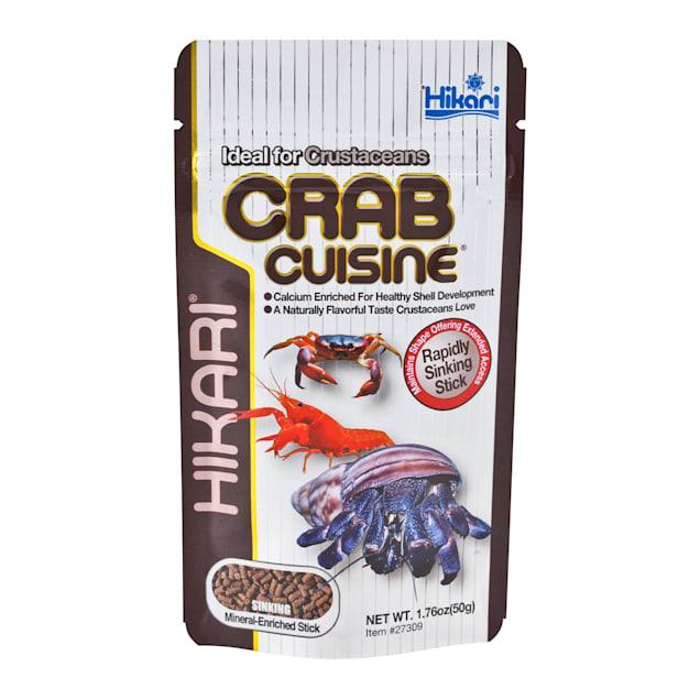 Hikari Crab Cuisine Rapidly Sinking Sticks for Bottom Feeders & Crustaceans - Carousel image #1