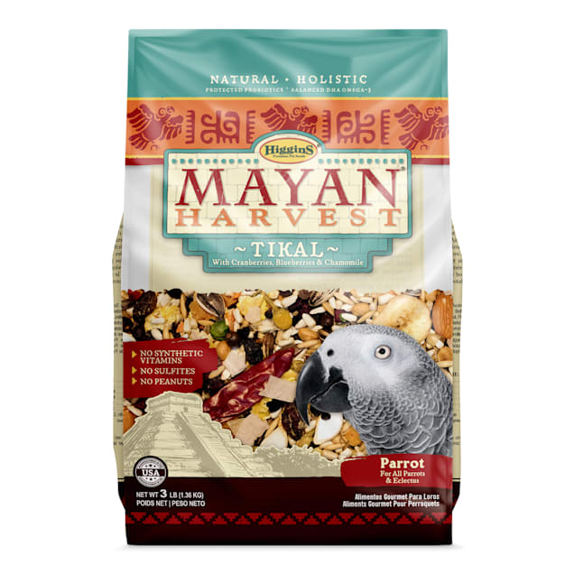 Higgins Mayan Harvest Tikal Blend Bird Food for Parrots, 3 lbs. - Carousel image #1