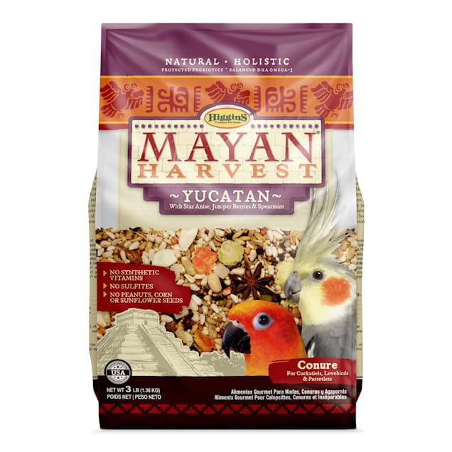 Higgins Mayan Harvest Yucatan Blend Bird Food for Small Hookbills, 3 lbs. - Carousel image #1