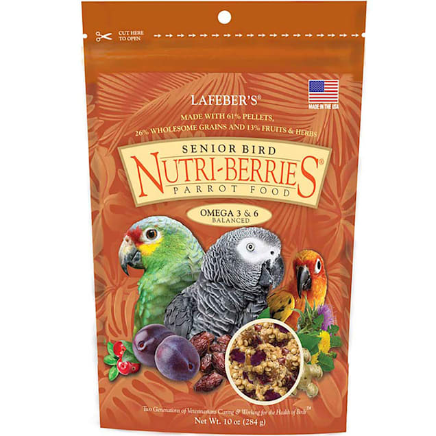 Lafeber's Senior Bird Nutri-Berries Parrot Food, 10 oz. - Carousel image #1