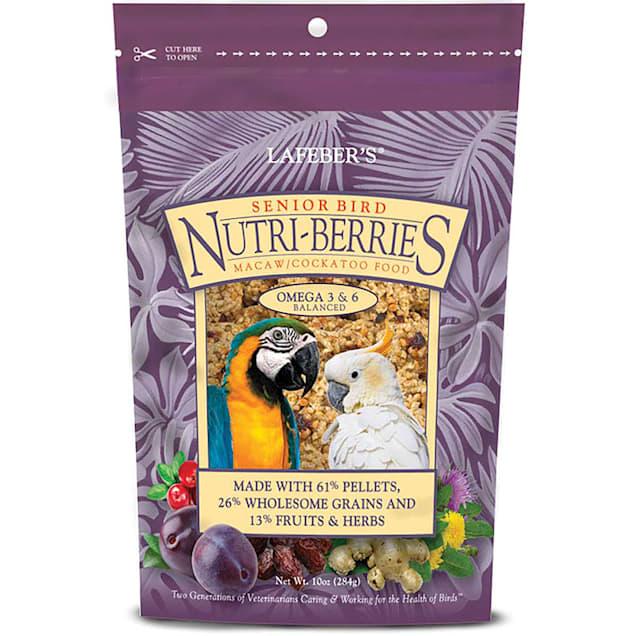 Lafeber's Senior Bird Nutri-Berries Macaw and Cockatoo Food, 10 oz. - Carousel image #1