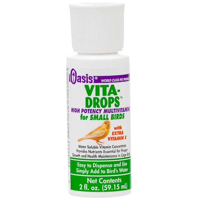 Oasis Vita-Drops Small Bird Multi-Vitamins, 2 fl. oz. - Carousel image #1