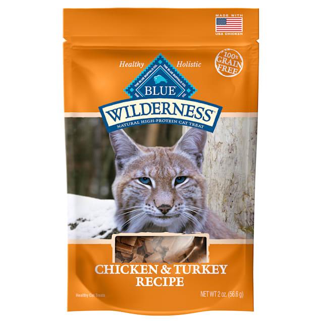 Blue Buffalo Blue Wilderness Chicken & Turkey Cat Treats, 2 oz. - Carousel image #1