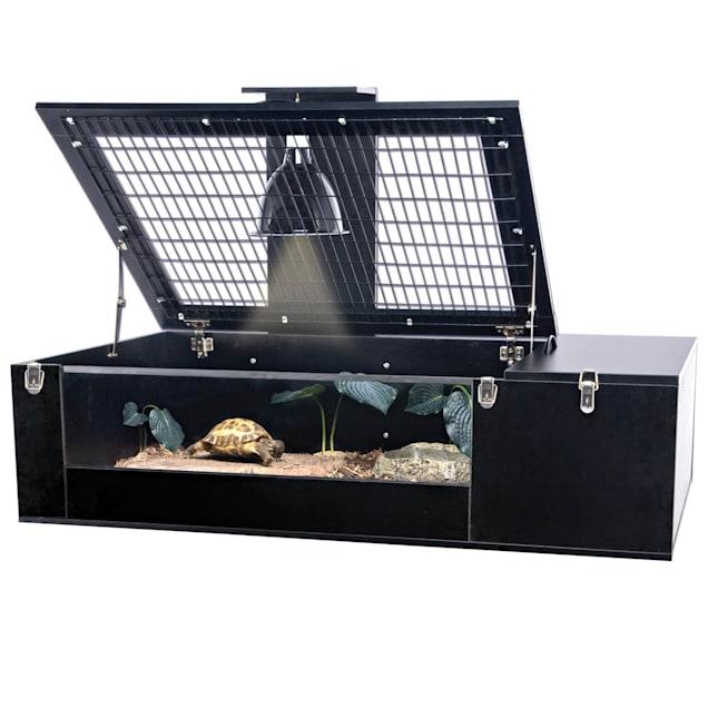 "Penn Plax Reptology Tortoise Palace, 29"" L X 47"" W X 10.75"" H - Carousel image #1"