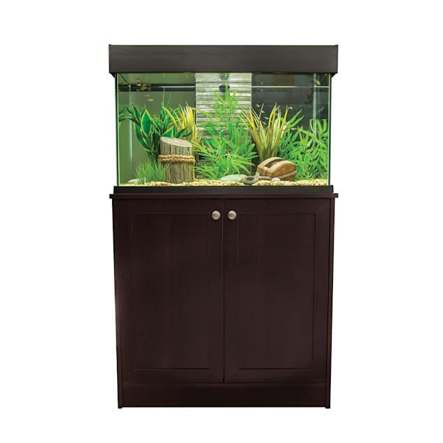 """Fluval Accent Aquarium Stand, Espresso, 15.5 """" W X 6.2"""" H - Carousel image #1"""
