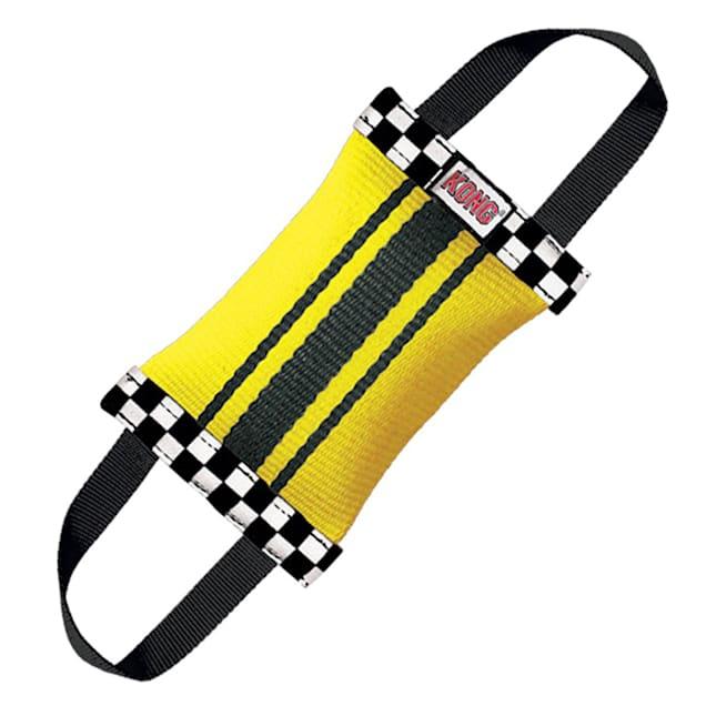 KONG Fire Hose Double Tug Dog Toy, Medium - Carousel image #1
