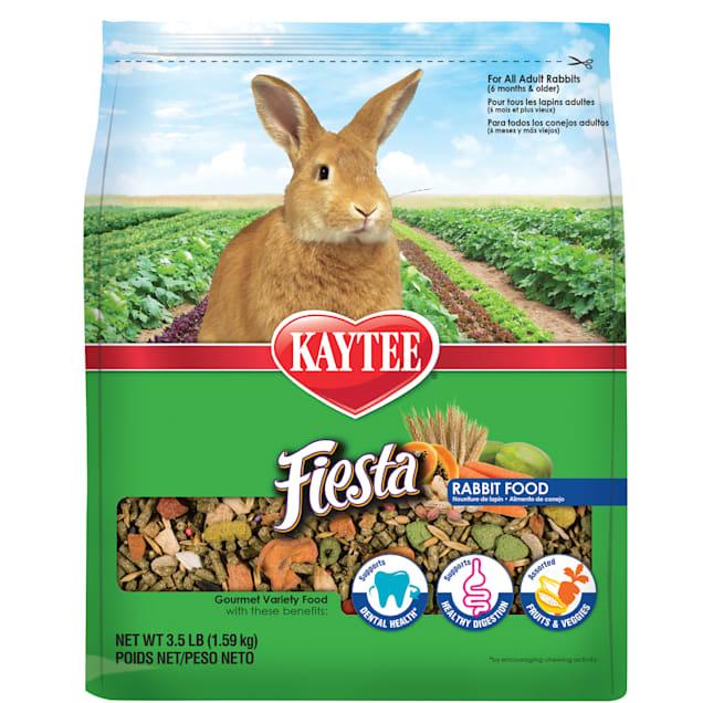 Kaytee Fiesta MAX Food for Rabbits, 3.5 lbs. - Carousel image #1
