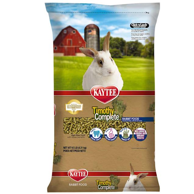 Kaytee Timothy Complete Rabbit Food, 9.5 lbs. - Carousel image #1