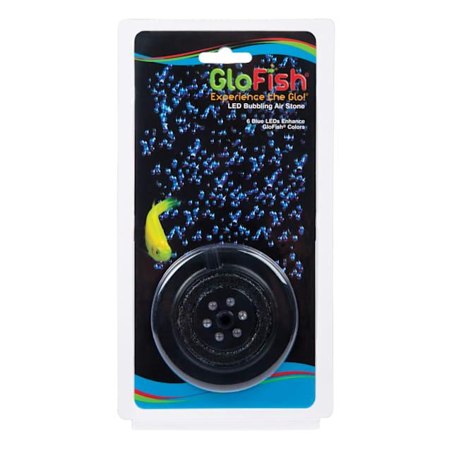 """GloFish Blue LED Aquarium Bubbler, 2.5"""" L X 4"""" W X 0.5"""" H - Carousel image #1"""
