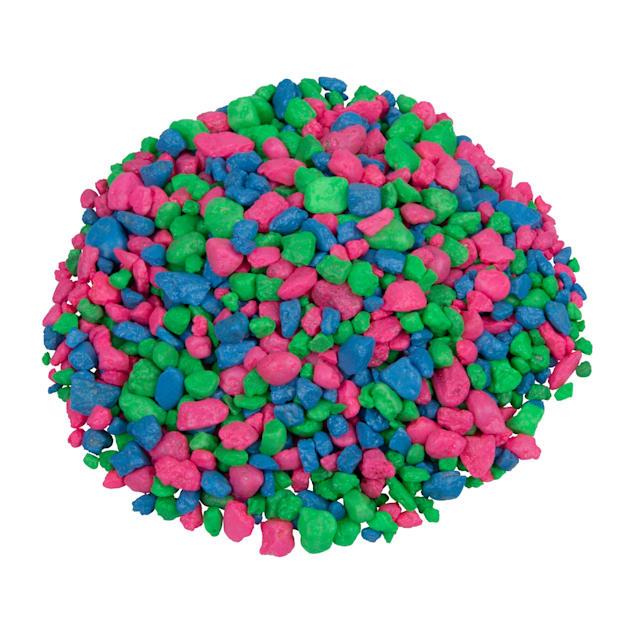 GloFish Multi-Color Fluorescent Aquarium Gravel, 5 lbs. - Carousel image #1