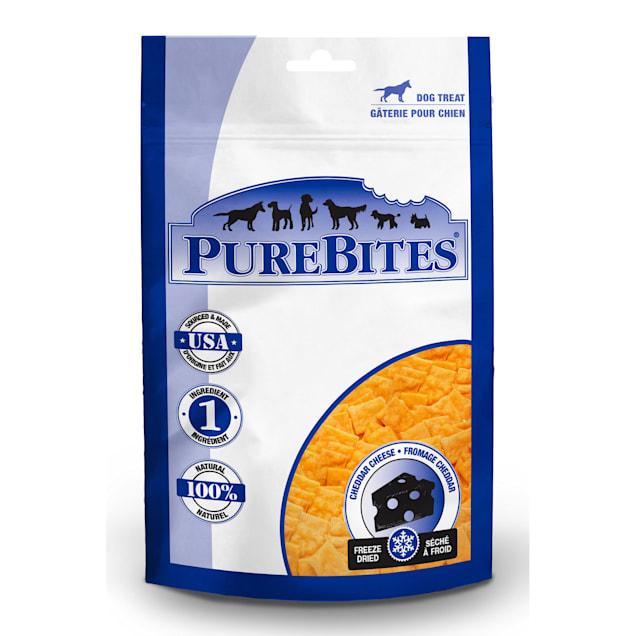 PureBites Cheddar Cheese Freeze Dried Dog Treats, 2 oz. - Carousel image #1