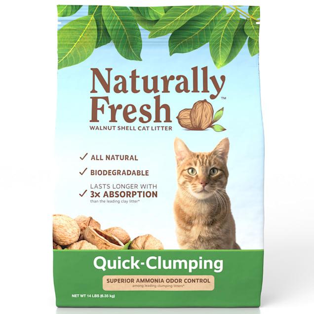 Naturally Fresh Quick-Clumping Natural Cat Litter, 14 lbs. - Carousel image #1