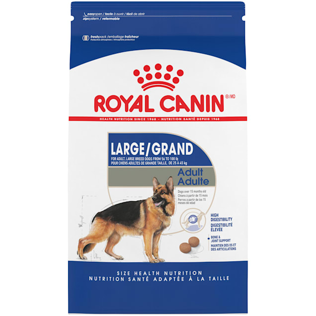Royal Canin Large Breed Adult Dry Dog Food, 35 lbs. - Carousel image #1