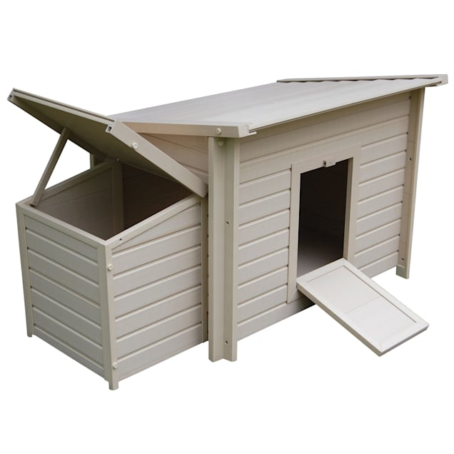 "New Age Pet ecoChoice Fontana Chicken Barn, 29"" L X 53"" W X 28.5"" H - Carousel image #1"