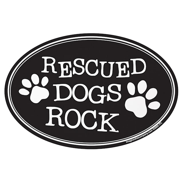 Imagine This Magnet Rescue Dogs Rock, Small - Carousel image #1
