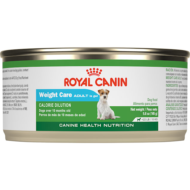 Royal Canin Canine Health Nutritionadult Weight Care In Gel Wet Dog Food, 5.8 oz., Case of 24 - Carousel image #1