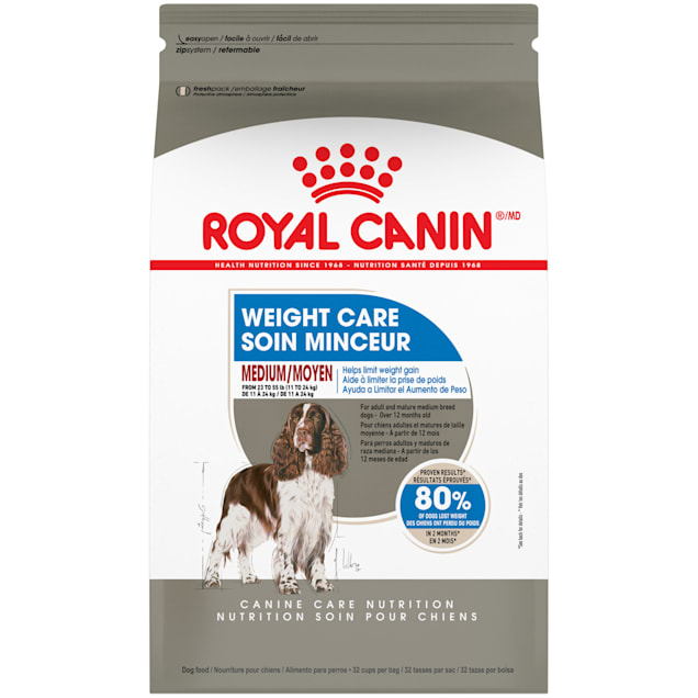 Royal Canin Medium Weight Care Adult Dry Dog Food for Medium Breeds, 30 lbs. - Carousel image #1
