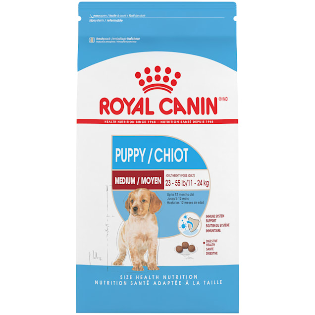 Royal Canin Medium Puppy Dry Food, 30 lbs. - Carousel image #1