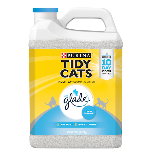 Tidy Cats Clumping Glade Clear Springs Multi Cat Litter, 20 lbs. - Carousel image #1