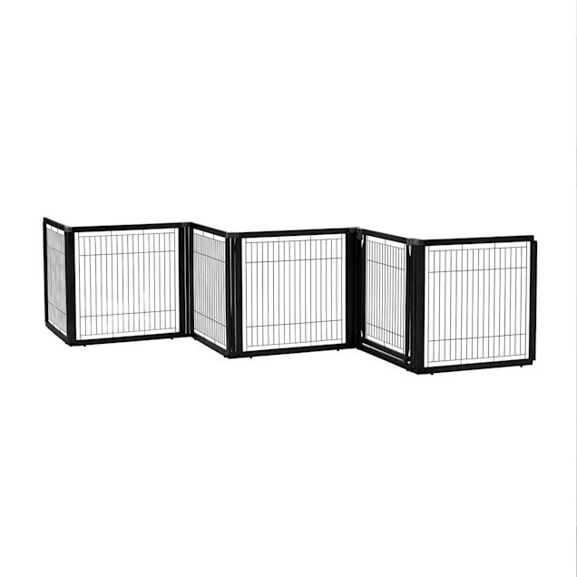 Richell Convertible Elite Six Panel Pet Gate - Carousel image #1