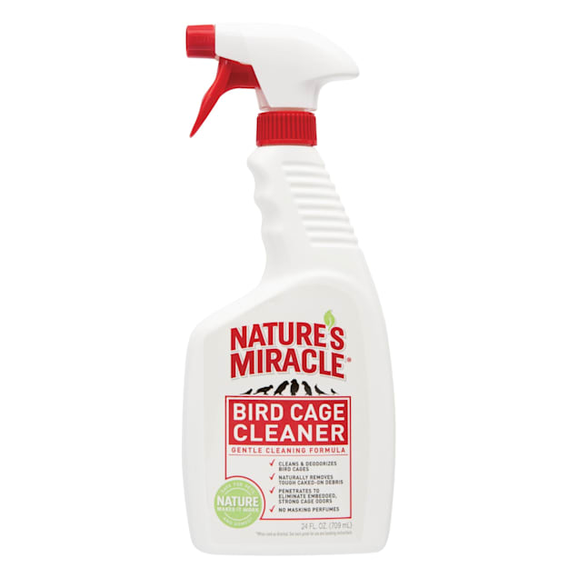Nature's Miracle Cage Cleaner for Birds, 24 fl. Oz. - Carousel image #1