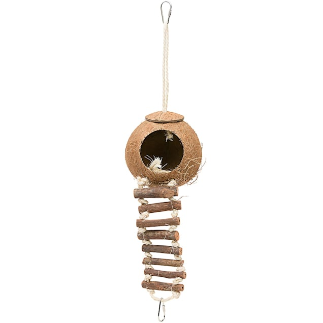 """Prevue Pet Products Coco Hideaway Bird Toy, 15"""" L X 4.5"""" W - Carousel image #1"""