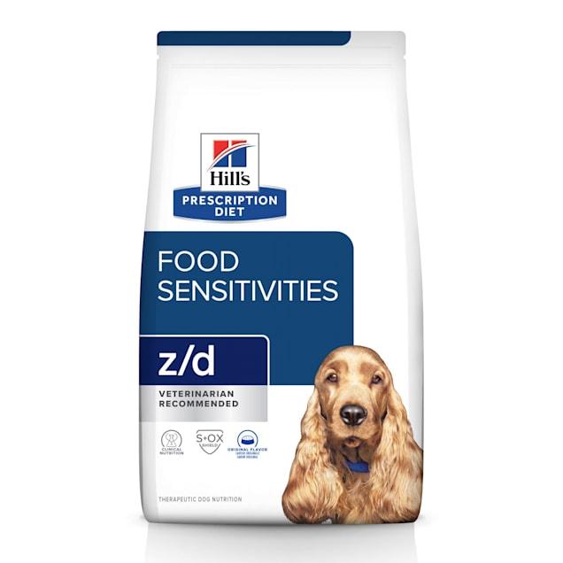 Hill's Prescription Diet z/d Skin/Food Sensitivities Original Dry Dog Food, 17.6 lbs., Bag - Carousel image #1
