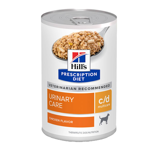 Hill's Prescription Diet c/d Multicare Urinary Care Chicken Flavor Canned Dog Food, 13 oz., Case of 12 - Carousel image #1