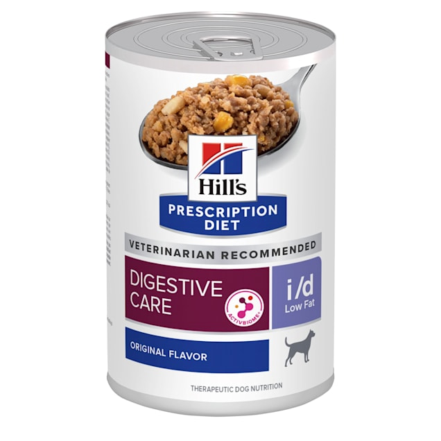 Hill's Prescription Diet i/d Low Fat Digestive Care Orginal Flavor Canned Dog Food, 13 oz., Case of 12 - Carousel image #1