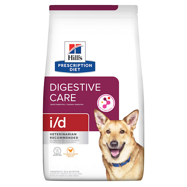 Hill's Prescription Diet i/d Digestive Care Chicken Flavor Dry Dog Food, 27.5 lbs., Bag - Carousel image #1