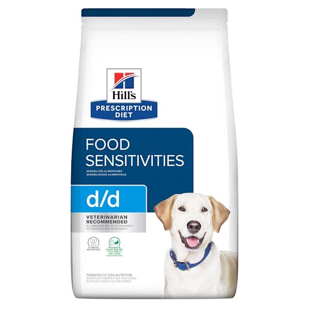Hill's Prescription Diet d/d Skin/Food Sensitivities Potato & Duck Formula Dry Dog Food, 17.6 lbs., Bag - Carousel image #1