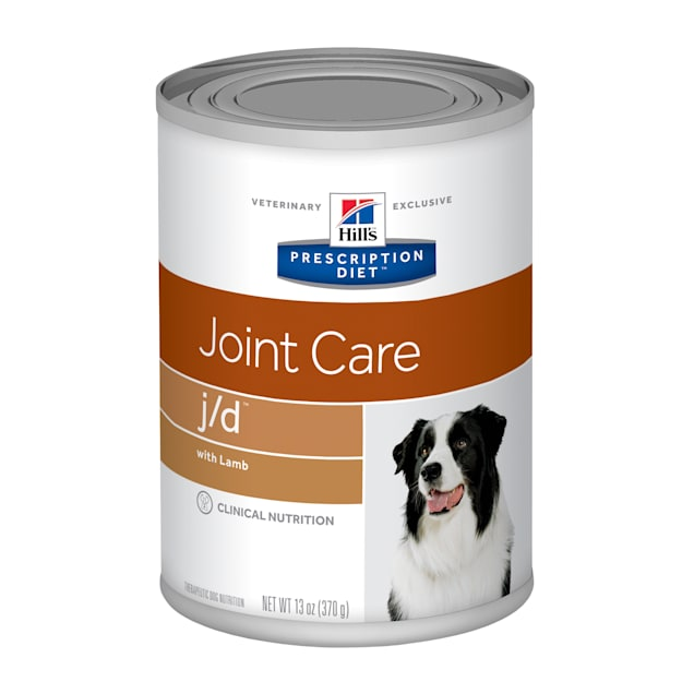 Hill's Prescription Diet j/d Joint Care with Lamb Canned Dog Food, 13 oz., Case of 12 - Carousel image #1