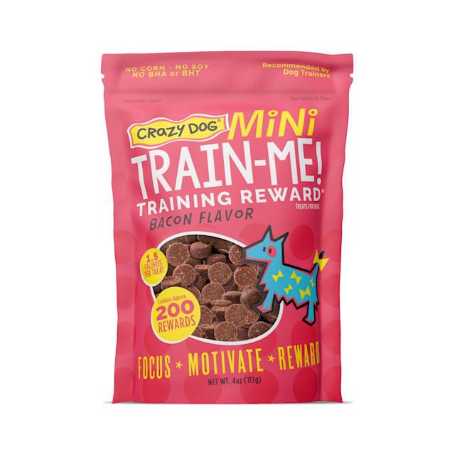 Crazy Dog Train-Me! Mini Training Reward Dog Treats, 4-oz bag, 200 count. - Carousel image #1