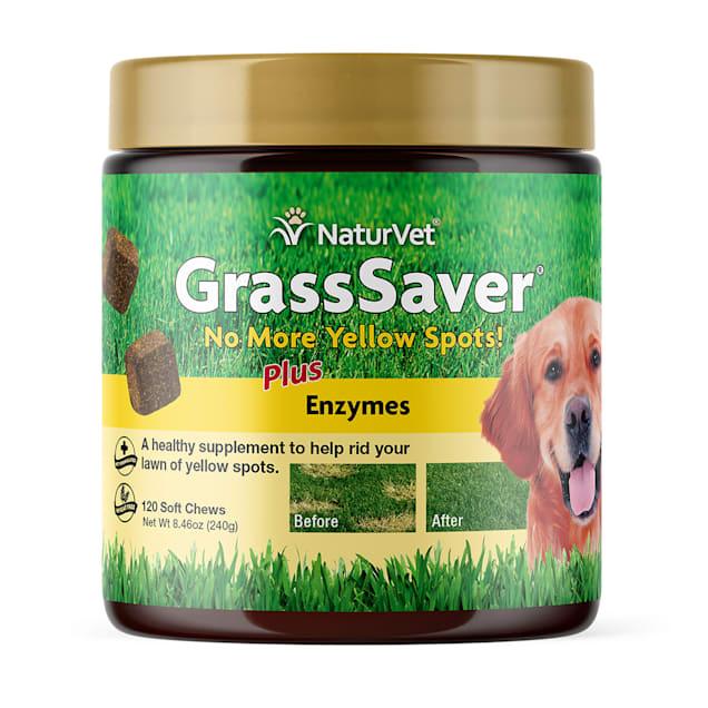 NaturVet GrassSaver Soft Dog Chews, 120 Chews, 8.4 oz. - Carousel image #1