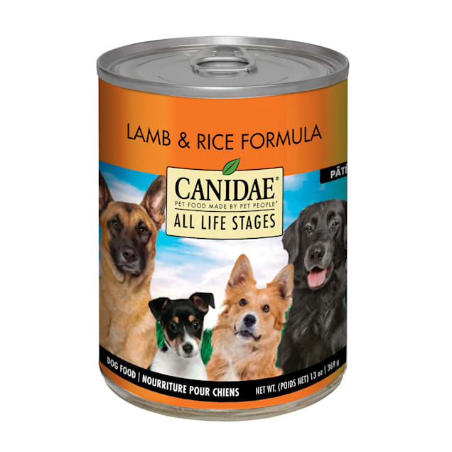 CANIDAE All Life Stages Lamb & Rice Wet Dog Food, 13 oz., Case of 12 - Carousel image #1
