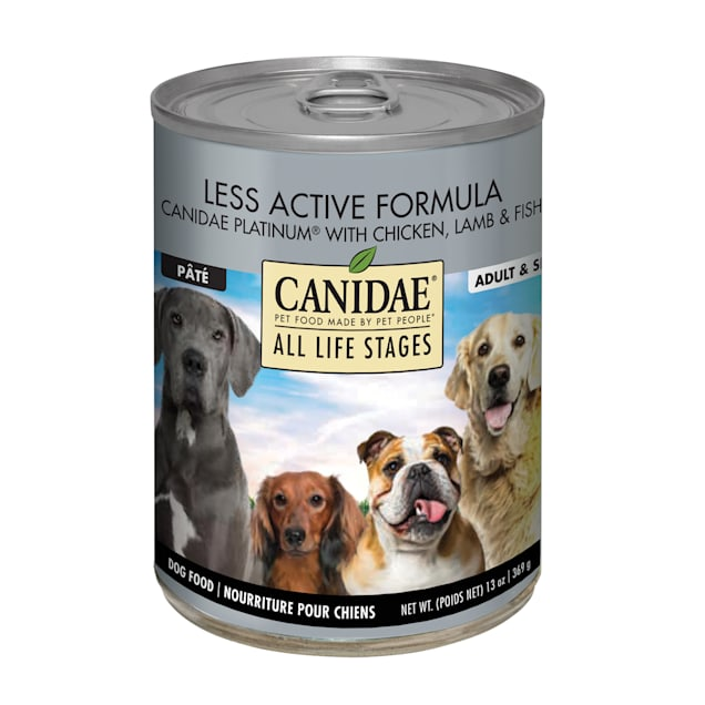 CANIDAE All Life Stages Platinum Chicken, Lamb & Fish Wet Dog Food, 13 oz., Case of 12 - Carousel image #1