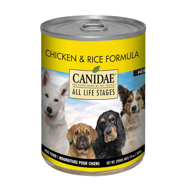CANIDAE All Life Stages Chicken & Rice Wet Dog Food, 13 oz., Case of 12 - Carousel image #1