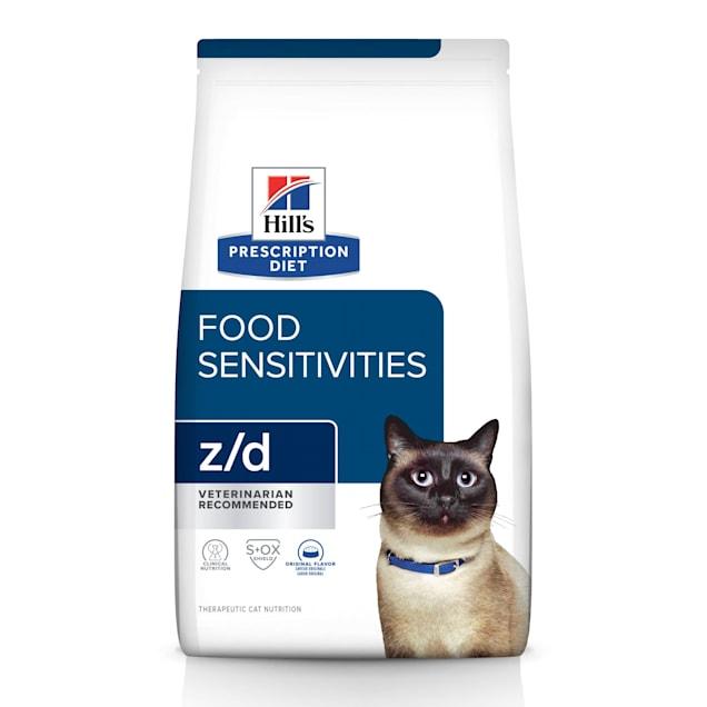Hill's Prescription Diet z/d Skin/Food Sensitivities Original Dry Cat Food, 8.5 lbs., Bag - Carousel image #1