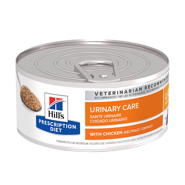 Hill's Prescription Diet c/d Multicare Urinary Care with Chicken Canned Cat Food, 5.5 oz., Case of 24 - Carousel image #1