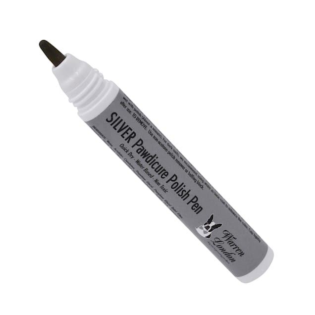 Warren London Pawdicure Silver Nail Polish Pen for Dogs, .01 fl. oz. - Carousel image #1