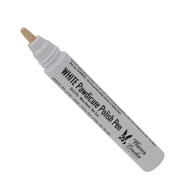 Warren London Pawdicure White Nail Polish Pen for Dogs, .01 fl. oz. - Carousel image #1