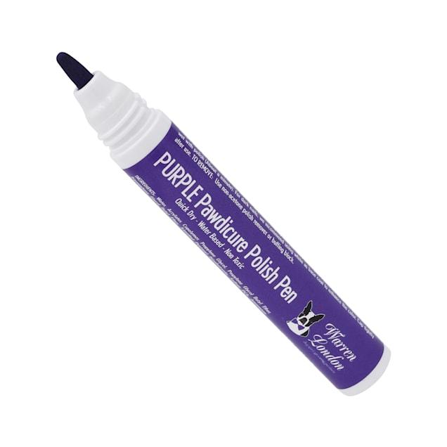 Warren London Pawdicure Purple Nail Polish Pen for Dogs, .01 fl. oz. - Carousel image #1