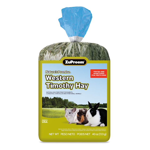ZuPreem Nature's Promise Western Timothy Hay, 40 oz. - Carousel image #1