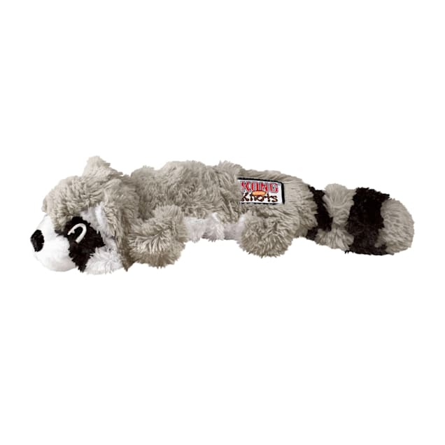 KONG Scrunch Knots Raccoon, Large - Carousel image #1