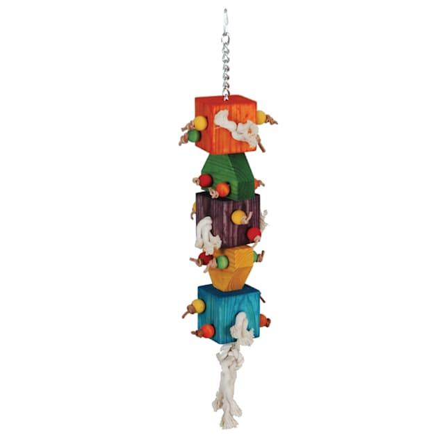 "Caitec Loaded Dice Bird Toy, 7"" W X 31"" H - Carousel image #1"