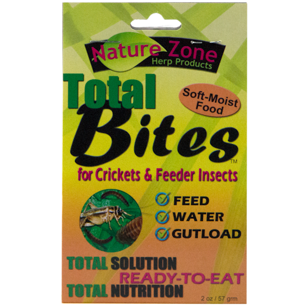 Nature Zone Total Bites for Crickets, 2oz - Carousel image #1